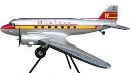 Western Airlines Douglas DC-3